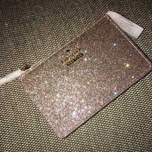 NWT Kate Spade ♠️ multicolored glitter wallet